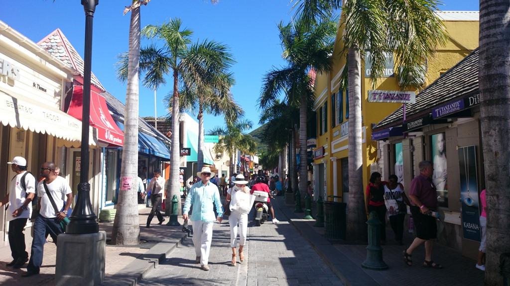 Philipsburg St. Maarten shopping