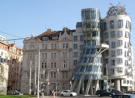 Prague Dancing House Czechia