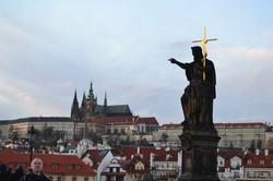 Charles Bridge Prague Castle