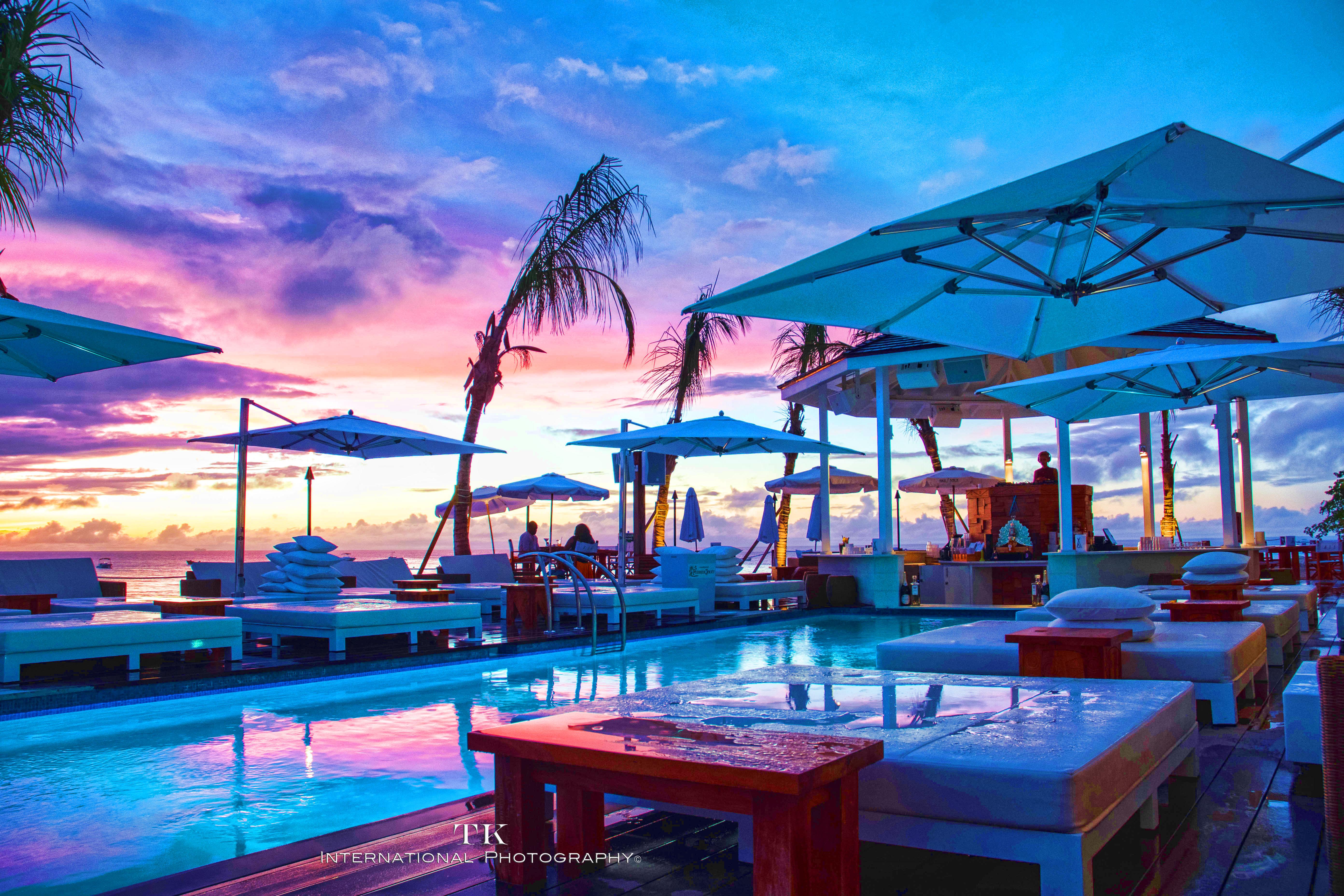 Nikki Beach Barbados-pool-sunset-luxury-beautiful-Caribbean