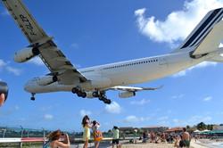 Maho Plane Spotting Maho Beach