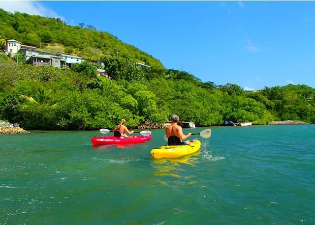 Conservation Kayak Grenada