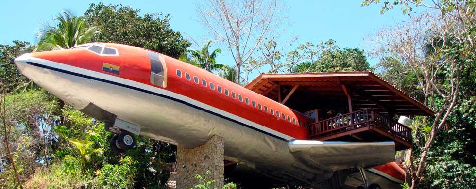 CostaVerde Costa Rica Airplane Hotel