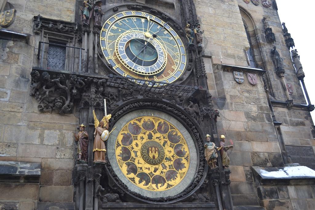 Astonomical Clock Old town Prague Czechia