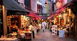 Brussels outdoor restaurants