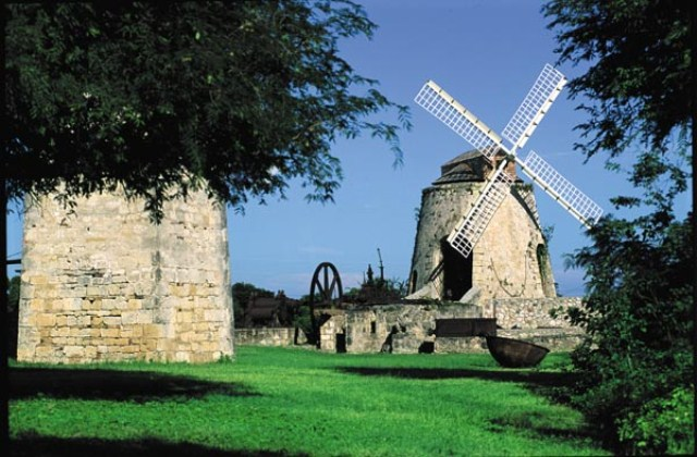 St. Croix estate windmill