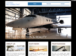 Aviation-film-consultant-HTN-web-design-Affordable-Wix-Barbados-Small-business