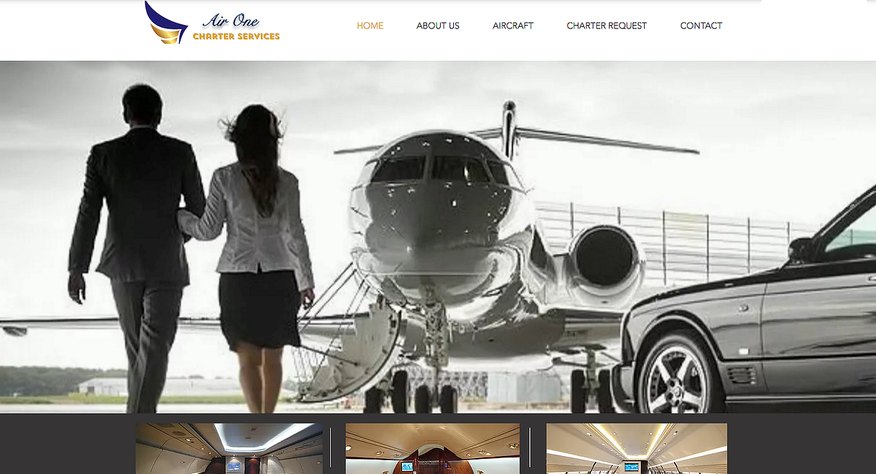 air-one-charter-service-HTN-web-design-Affordable-Wix-Barbados-Small-business