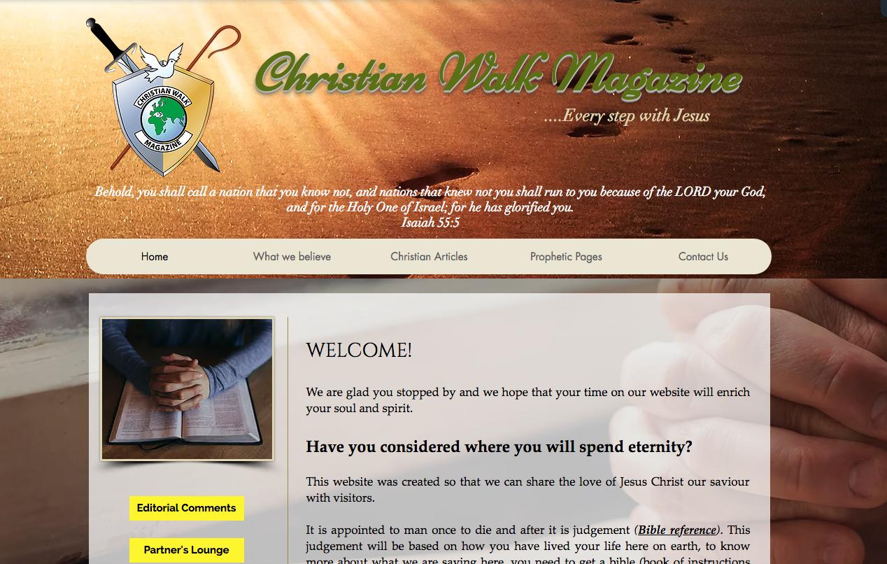 Christian Walk Magazine