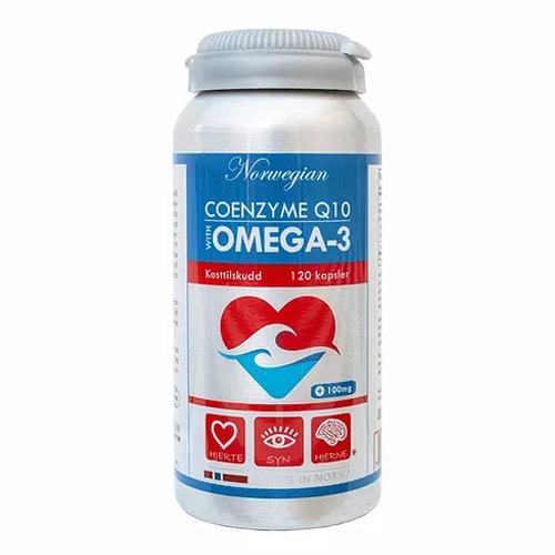 Kofermentas Q10 + omega-3