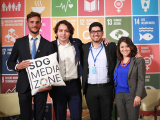 The SDG Media Zone to Amplify the Voices of Youth at the United Nations  ECOSOC Youth Forum