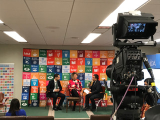 SDG Media Zone: High-Level Political Forum to engage the global community in the progress of the Sus