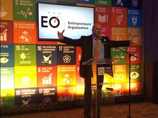 Entrepreneurs' Organization pledges to tackle the Sustainable Development Goals at the SDG Media Zon