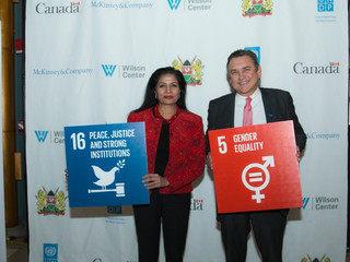 UNDP and Partners Launch Global Women's Leadership Index for 50-50 Women Leaders in Public Office by