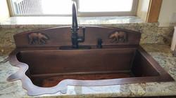 Copper sink (2)