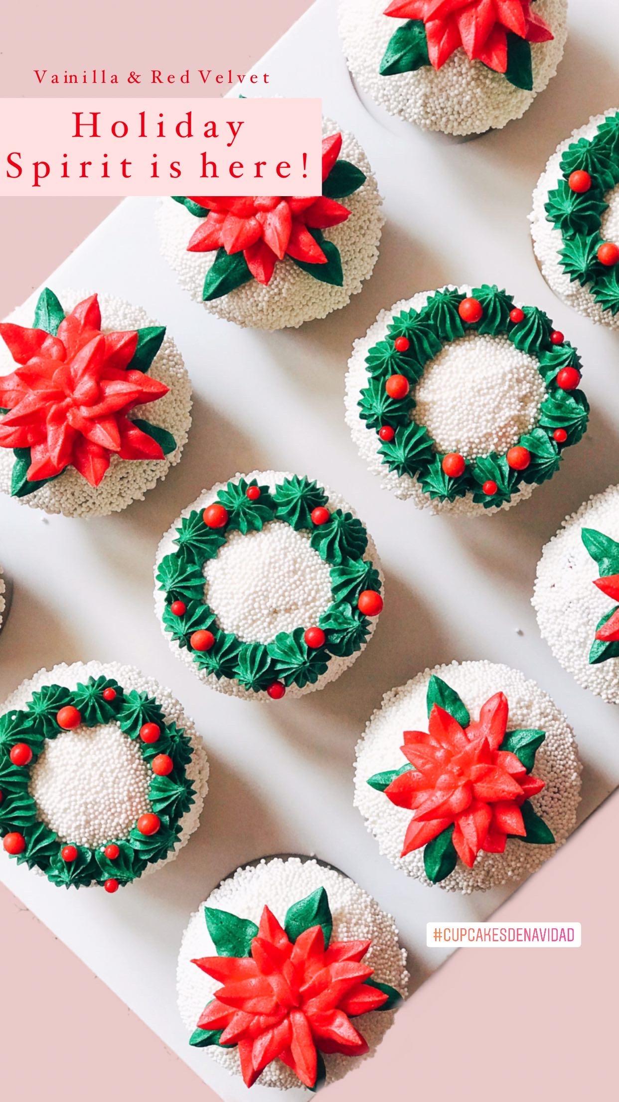 Vainilla & Red Velvet Cupcakes