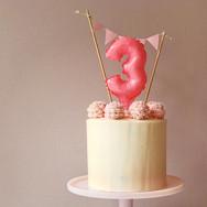 Baby pom pom Cake