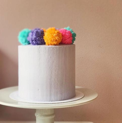 Pom pom Cake