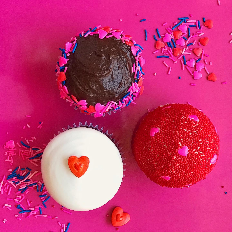 Cupcakes Amor & Amistad