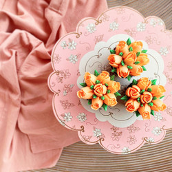 floral hand crafted cupcakes