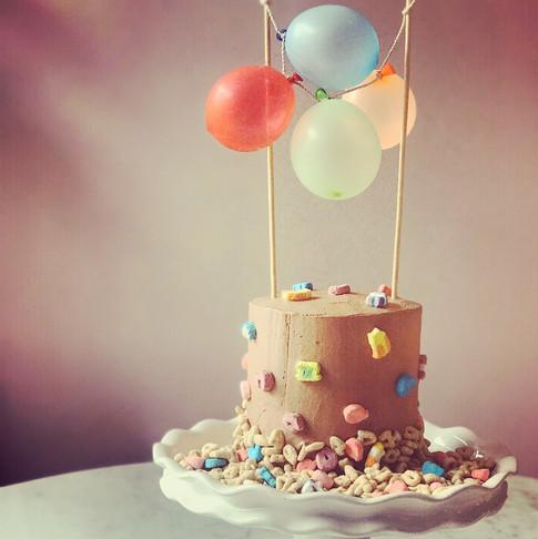 Lucky Chocolate Cake