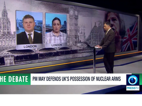 Watch: Debate On British Nuclear Weapons