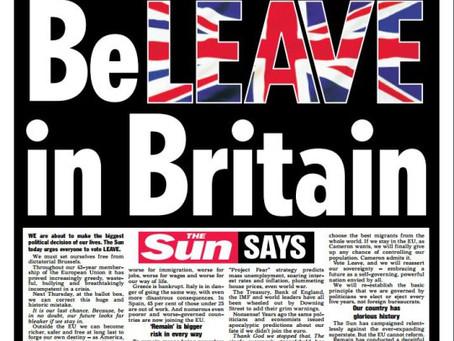 Biggest Newspaper In UK Backs Independence From EU