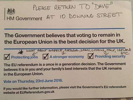 Top Uses For Cameron's Euro Propaganda Leaflet