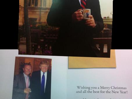 British MP Sends Entire UK Political Establishment a Holiday 'Trump Card'
