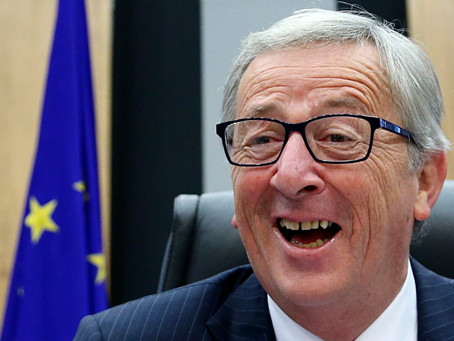 EU President Juncker Drowns Sorrows After Battle of Brexit Smackdown