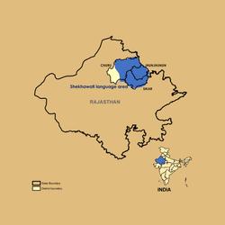 Shekhawati Map