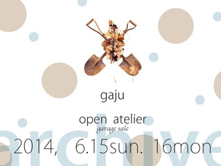 open  atelier  (garage sale)の ご案内
