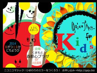 2014 8/10 gajuのプチセミナー for  kid's