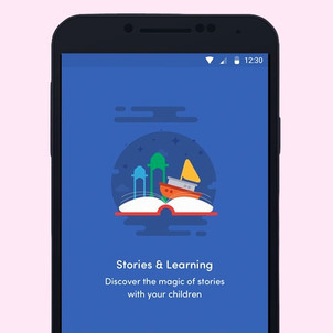 Worldreader App Visual Design