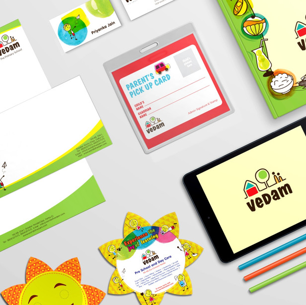 Branding for Vedam Preschool