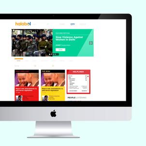 Halabol Website Design