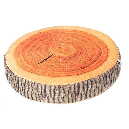 Log slice cushion