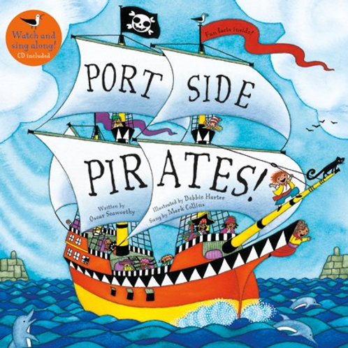 Portside Pirates with CD