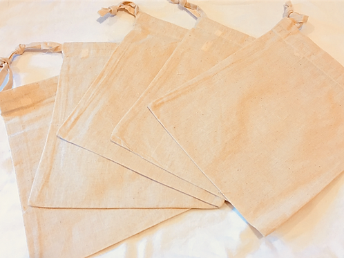 Medium Cotton Sacks