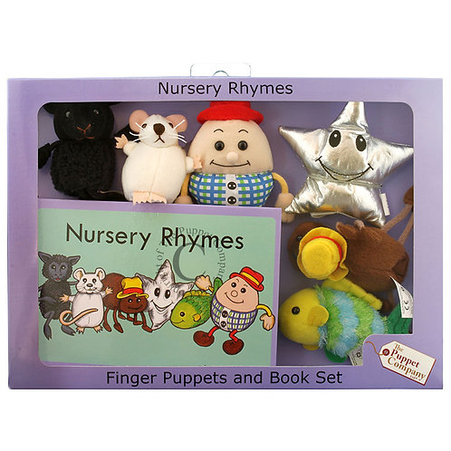 Traditional Nursery Ryhme Puppet and Book Set