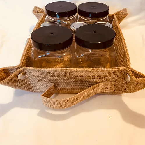 Basket of Jars