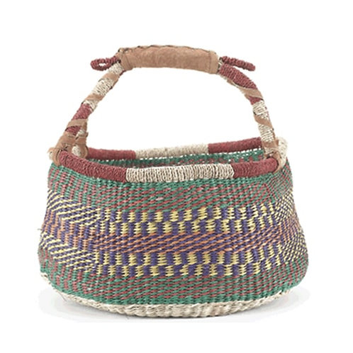 Bolga Style Basket - 37cm