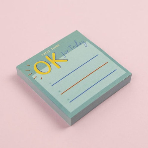 Ok for today! Post-it notes