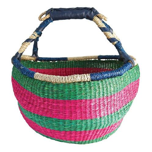 Bolga Style Basket 23cm