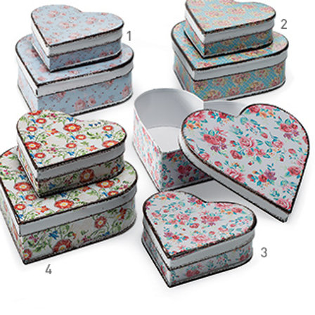 Grandma's Heart Button Tins!