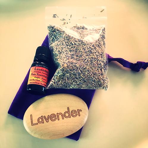 Sensory Scented Pebble - Lavender