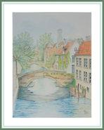 Groenerei in Bruges