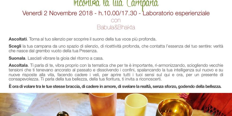 VOCE ALL'ESSENZA: Incontra la tua Campana - Gardone Riviera