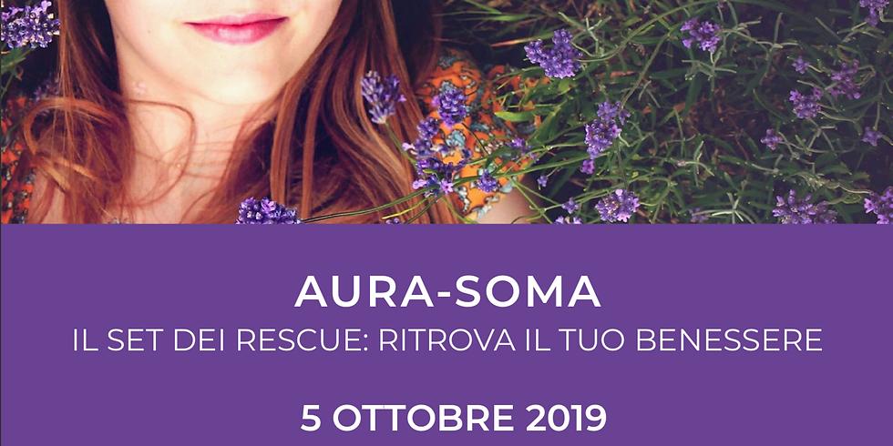 AURA-SOMA - Il Set dei Rescue: ritrova il tuo benessere - Milano