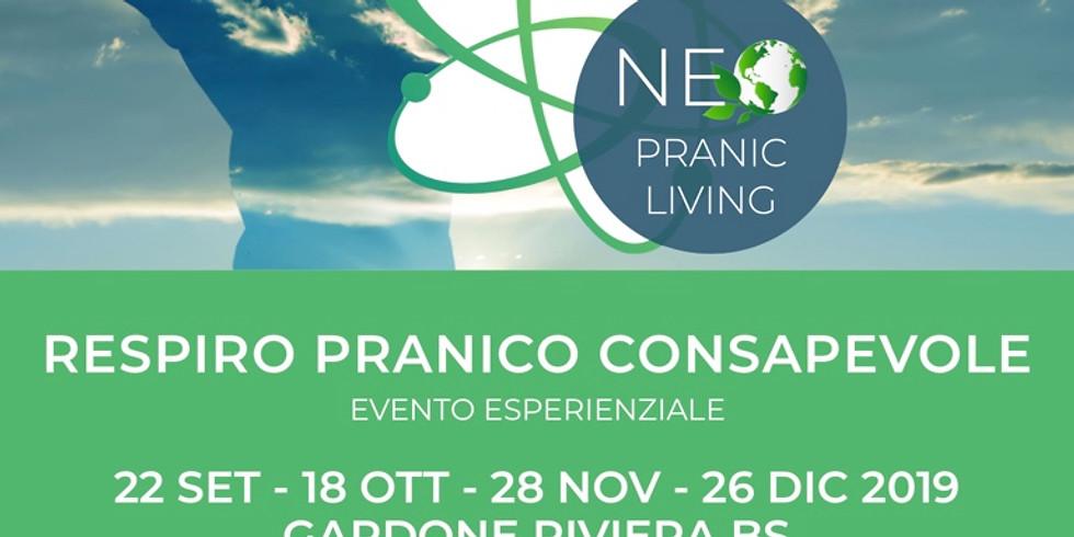 RESPIRO PRANICO CONSAPEVOLE - Gardone Riviera